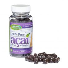 100% Pure Acai Berry 700mg with No Fillers or Bulking Agents - 60 Capsules