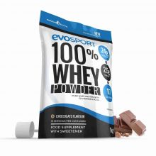 EvoSport 100% Whey Protein Powder 1kg - Chocolate