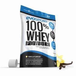 EvoSport 100% Whey Protein Powder 1kg - Vanilla