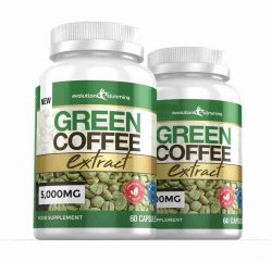Green Coffee Bean Extract 5,000mg - 120 Capsules