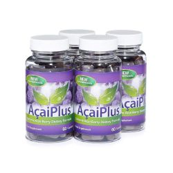 Acai Plus Extreme Acai Berry Complex - 4 Month Supply (240 Capsules)