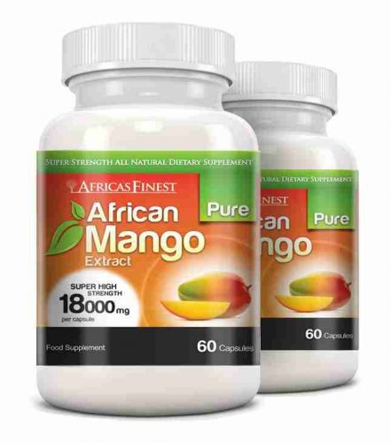 Africa's Finest Pure African Mango 18,000mg - 120 Capsules
