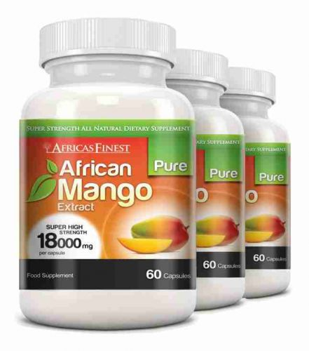 Africa's Finest Pure African Mango 18,000mg - 180 Capsules