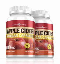 Apple Cider Vinegar 500mg Capsules - 240 Capsules