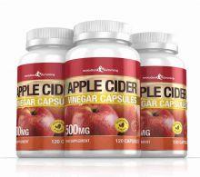Apple Cider Vinegar 500mg Capsules - 360 Capsules