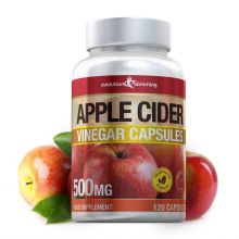 Apple Cider Vinegar 500mg Capsules - 120 Capsules