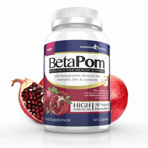 BetaPom Pomegranate Reproductive Health Support - 60 Capsules