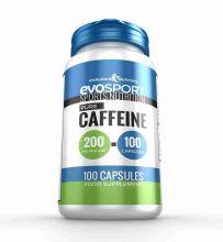 EvoSport Caffeine 200mg Capsules for Focus & Stamina - 100 Capsules
