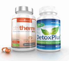 CitriTherm Fat Burner with DetoxPlus Combo - 1 Month Supply
