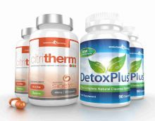 CitriTherm Fat Burner with DetoxPlus Combo - 2 Month Supply