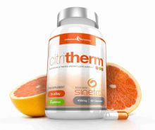 CitriTherm Natural Fat Burner with Sinetrol® Citrus Extracts - 60 Capsules