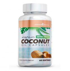 Extra Virgin Organic Coconut Oil Capsules 1,000mg - 120 Capsules