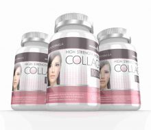Hydrolysed Collagen High Strength 1,000mg for Hair, Skin & Nails + Vitamin C - 180 Tablets