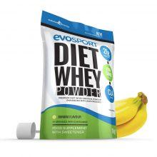 EvoSport Diet Whey Protein with CLA, Acai Berry & Green Tea 1kg - Banana