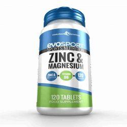 EvoSport Zinc & Magnesium ZMA - 120 Tablets