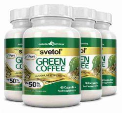 Pure Svetol Green Coffee Bean with 50% CGA - 240 Capsules
