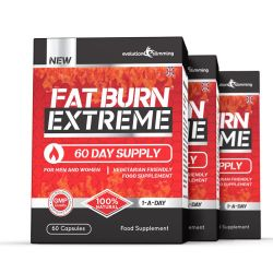 Fat Burn Extreme High Strength Weight Loss Supplement - 3 for 2 Offer