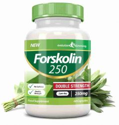 Forskolin 250 Double Strength 250mg 60 Weight Loss Capsules - 60 Capsules