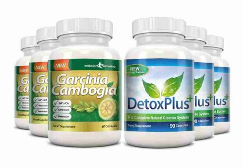 Garcinia Cambogia Cleanse Combo 1000mg 60% HCA with Potassium and Calcium - 3 Month Supply