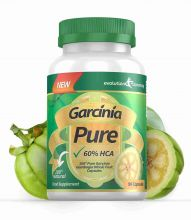 Garcinia Pure 100% Pure Garcinia Cambogia 1000mg 60% HCA - 1 Month Supply