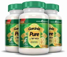 Garcinia Pure 100% Pure Garcinia Cambogia 1000mg 60% HCA - 3 Month Supply