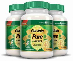 Garcinia Pure 100% Pure Garcinia Cambogia 1000mg 60% HCA - 3 Month Supply