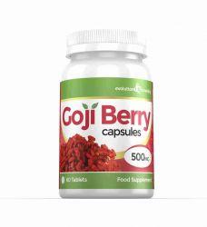 Goji Berry Extract 5,000mg High Strength Capsules - 60 Capsules