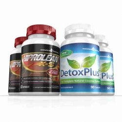 Hiprolean X-S High Strength Fat Burner & Cleanse Combo Pack - 2 Month Supply