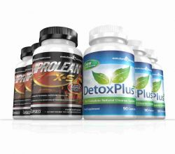Hiprolean X-S High Strength Fat Burner & Cleanse Combo Pack - 3 Month Supply