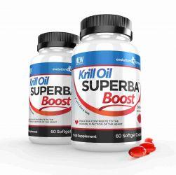 Krill Oil Superba™ Boost 590mg Krill Oil Softgels - 120 Capsules