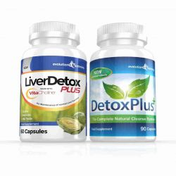 Liver Detox Plus Capsules & DetoxPlus Combo - 1 Month Supply