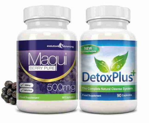 Maqui Berry & Detox Cleanse Combo Pack - 1 Month Supply