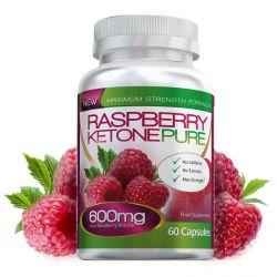 Raspberry Ketone Pure Max Strength 600mg - 60 Capsules (1 Month)
