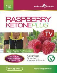 Raspberry Ketone Plus 60 Capsules - 1 Month Supply
