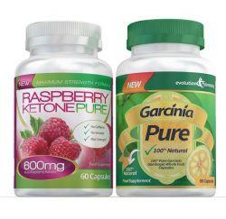 Raspberry Ketone & Garcinia Cambogia Combo Pack - 1 Month Supply