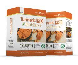 Turmeric Pro with BioPerine® 12,500mg 95% Curcuminoids - 120 Capsules