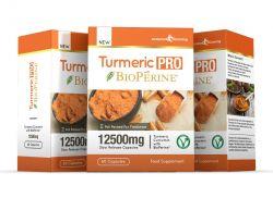 Turmeric Pro with BioPerine® 12,500mg 95% Curcuminoids - 180 Capsules