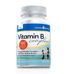 Vitamin B Complex Tablets, 100% RDA, Suitable for Vegetarians & Vegans - 360 Tablets