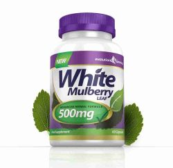 White Mulberry Leaf Extract 500mg - 180 Capsules