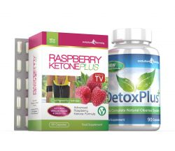 Raspberry Ketone Pure 600mg & DetoxPlus Cleanse Combo Pack - 1 Month Supply