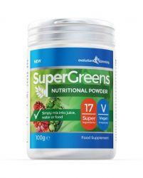 Super Greens Powder with 17 Super Fruits & Vegetables - 100g